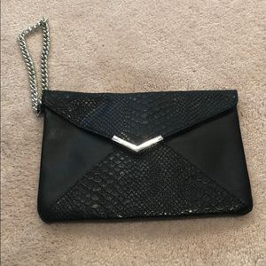 Express mini wristlet bag